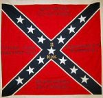 4th and last 11th battle flag captured at gettysburg at hatchers run 1865